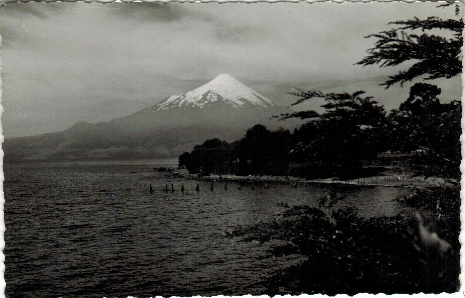 Enterreno - Fotos históricas de chile - fotos antiguas de Chile - Volcán Osorno 1950