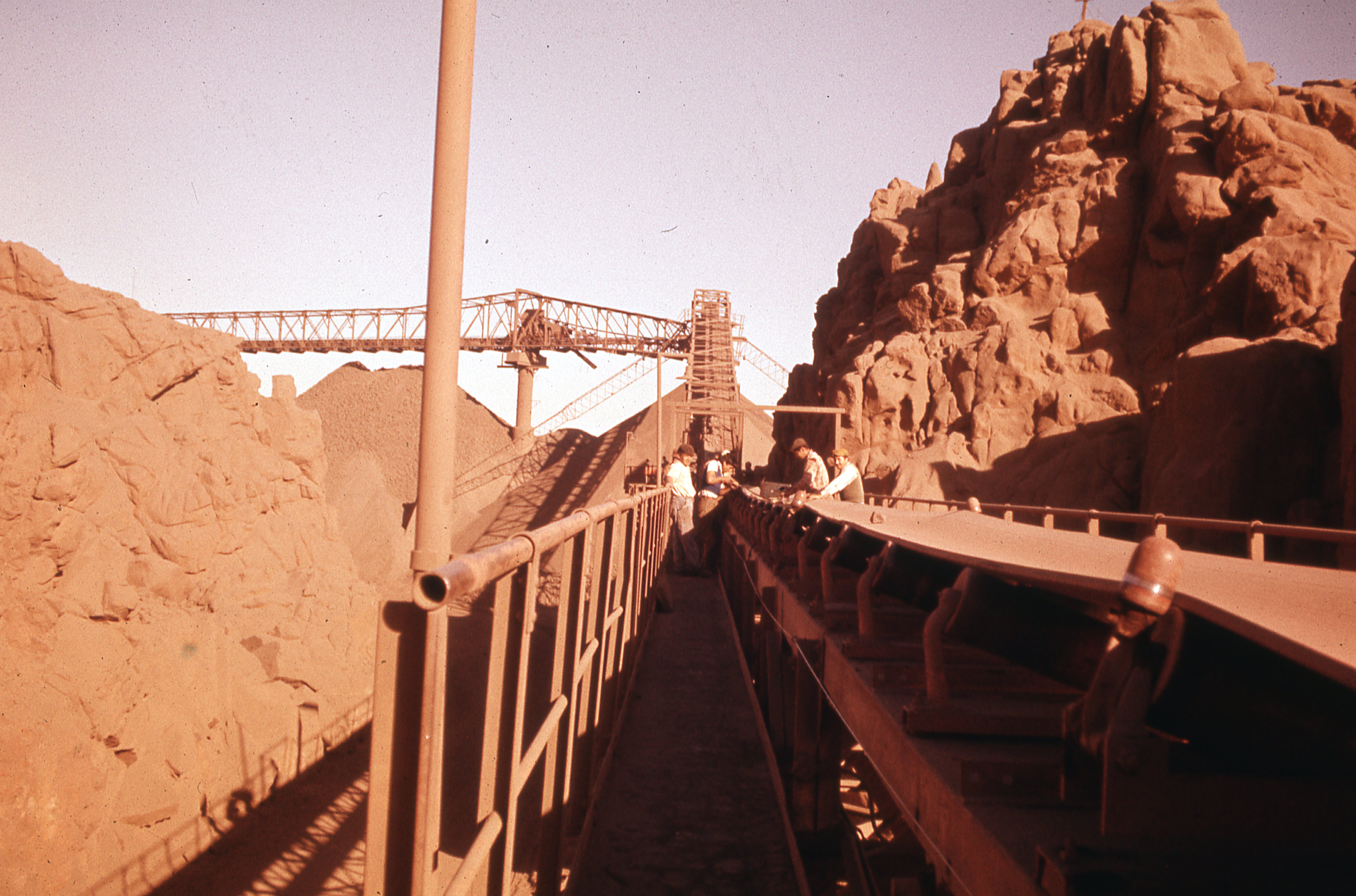 Enterreno - Fotos históricas de chile - fotos antiguas de Chile - Chañaral, 1977