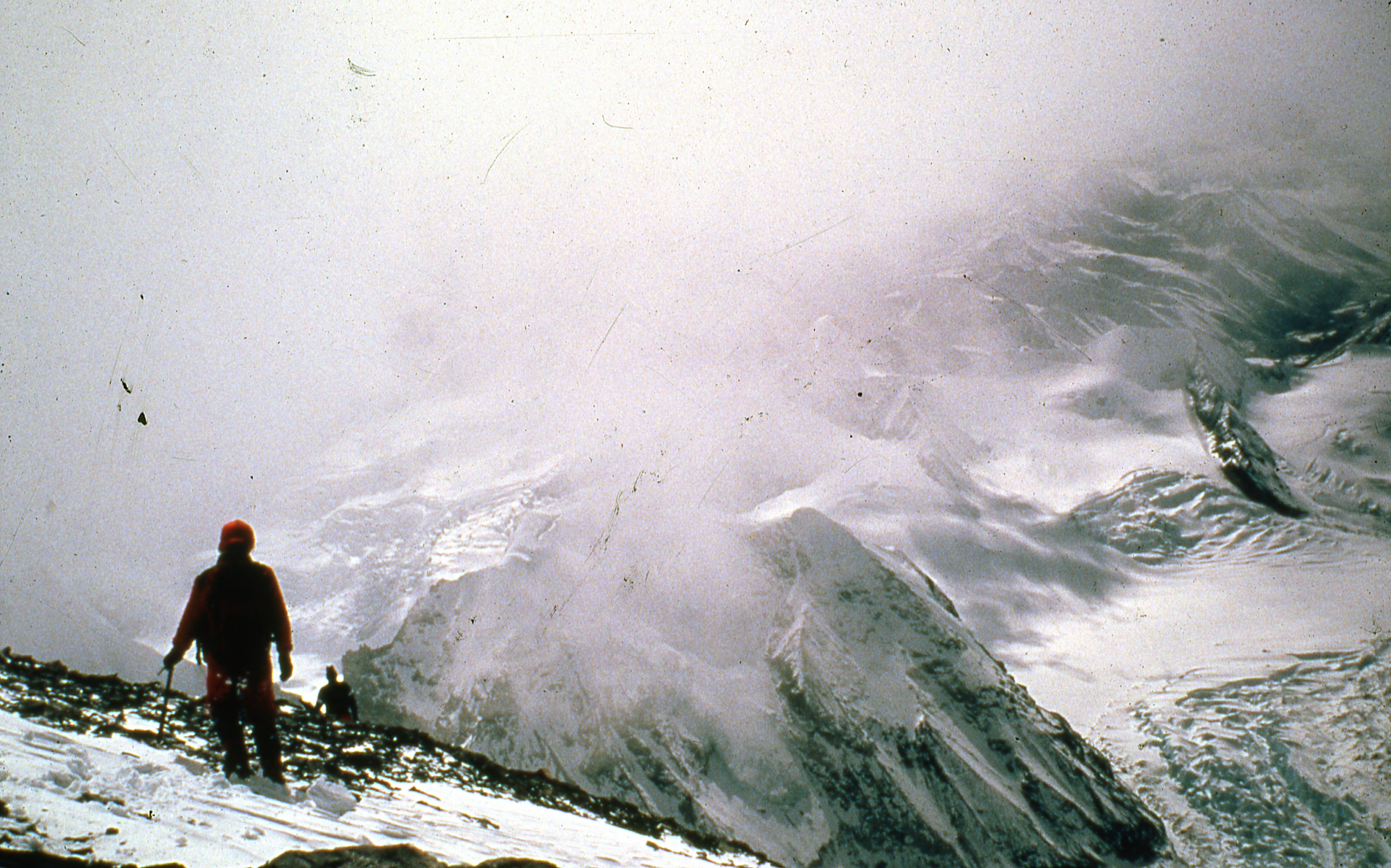 Enterreno - Fotos históricas de chile - fotos antiguas de Chile - Cordillera de Los Andes, 1977