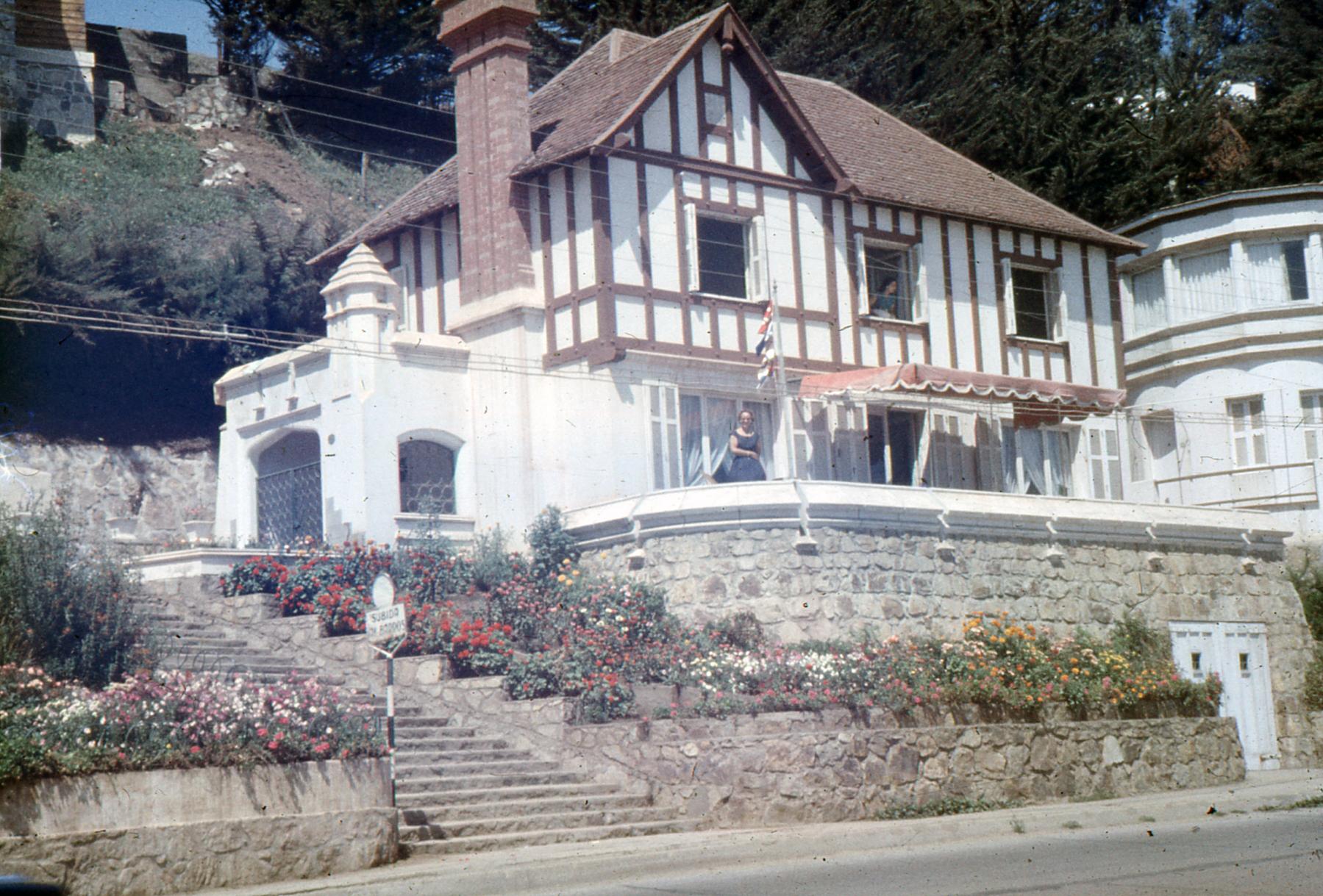 Enterreno - Fotos históricas de chile - fotos antiguas de Chile - Concon en 1958