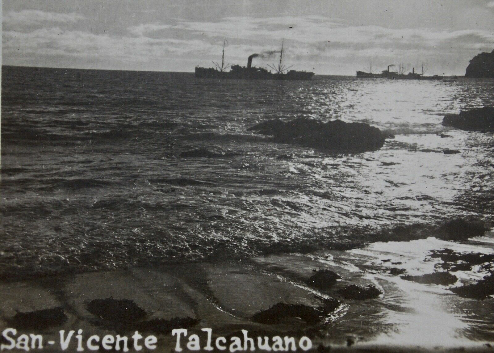 Enterreno - Fotos históricas de chile - fotos antiguas de Chile - Talcahuano en 1930