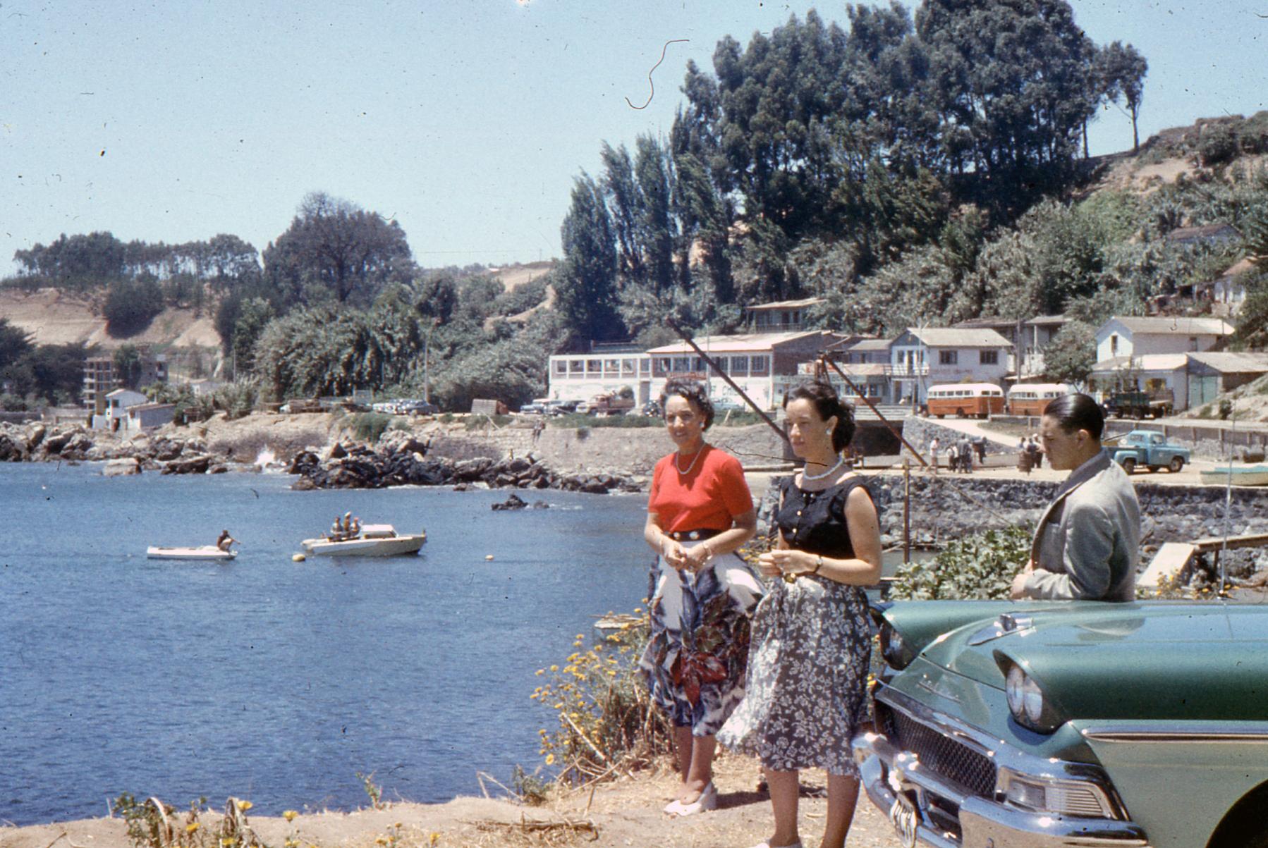 Enterreno - Fotos históricas de chile - fotos antiguas de Chile - Concon - Higuerilla, 1957
