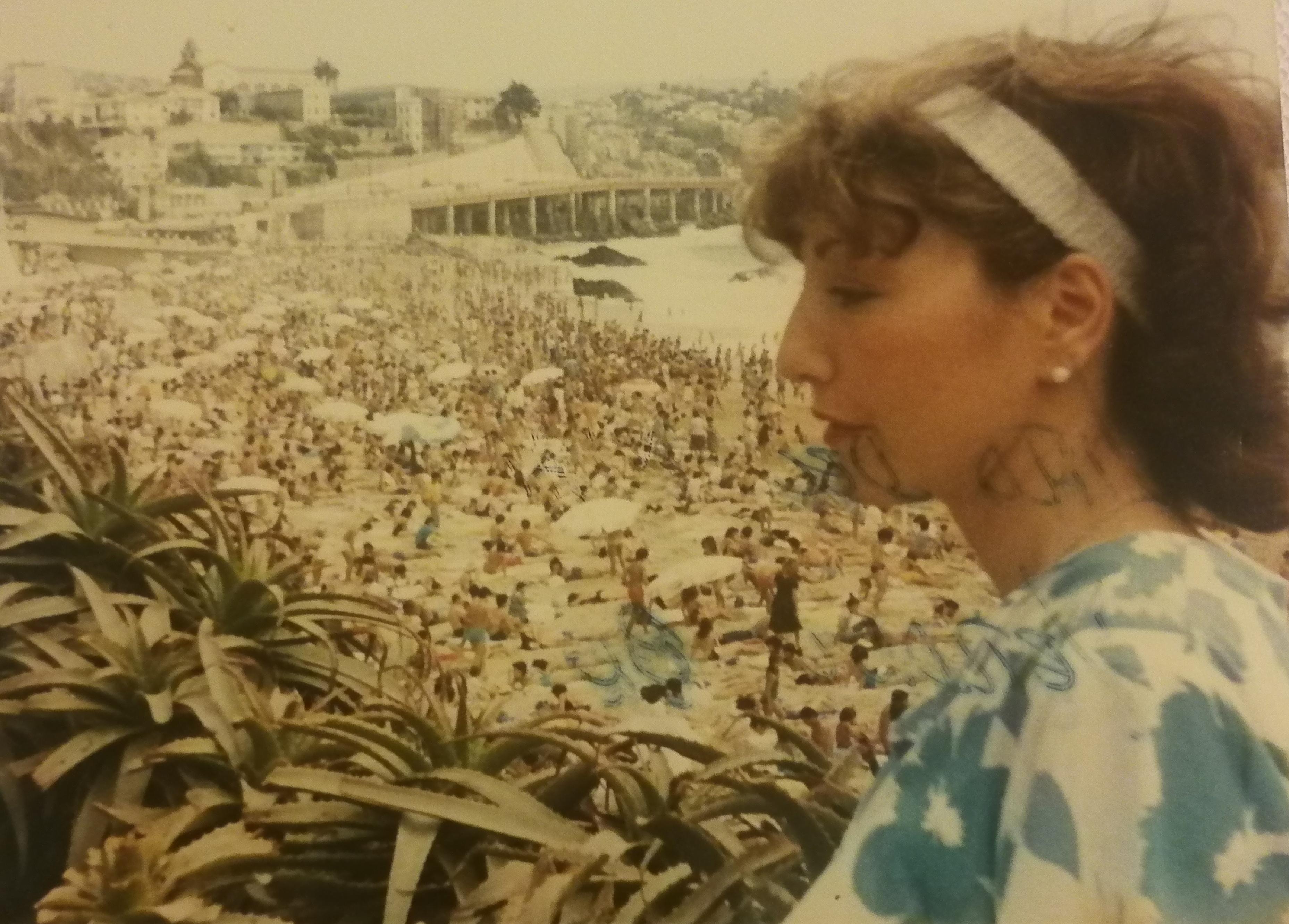 Enterreno - Fotos históricas de chile - fotos antiguas de Chile - Verano Viña del Mar 1986