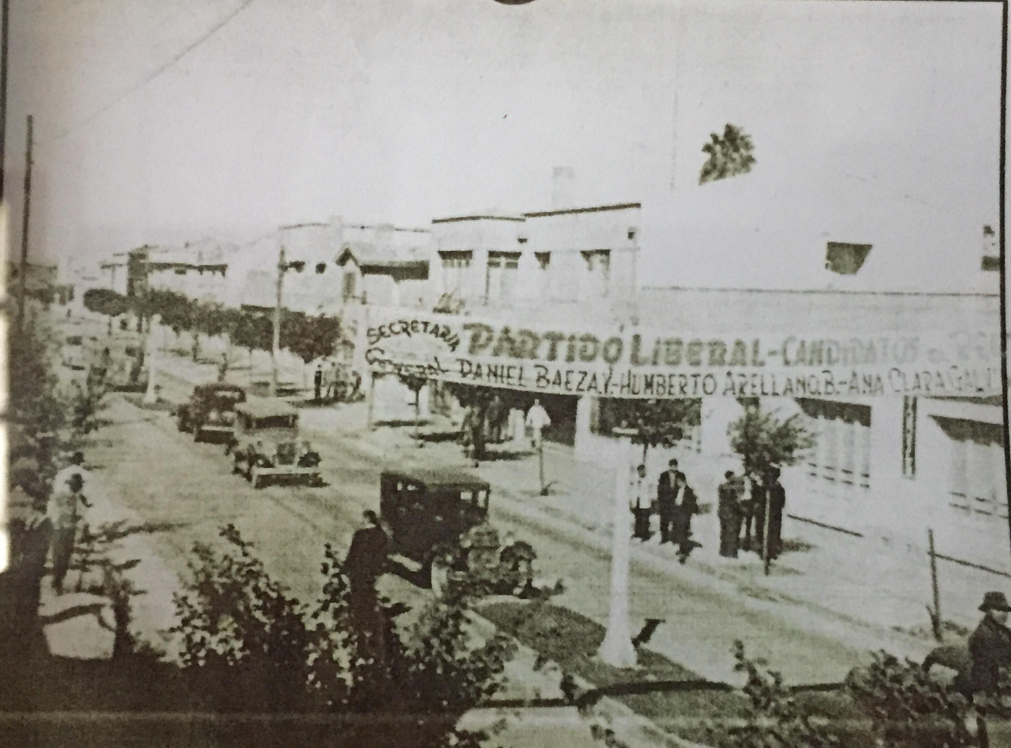 Enterreno - Fotos históricas de chile - fotos antiguas de Chile - Campañas políticas, 1940