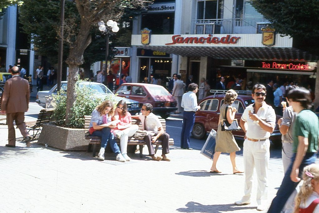 Enterreno - Fotos históricas de chile - fotos antiguas de Chile - Viña del Mar, 1982