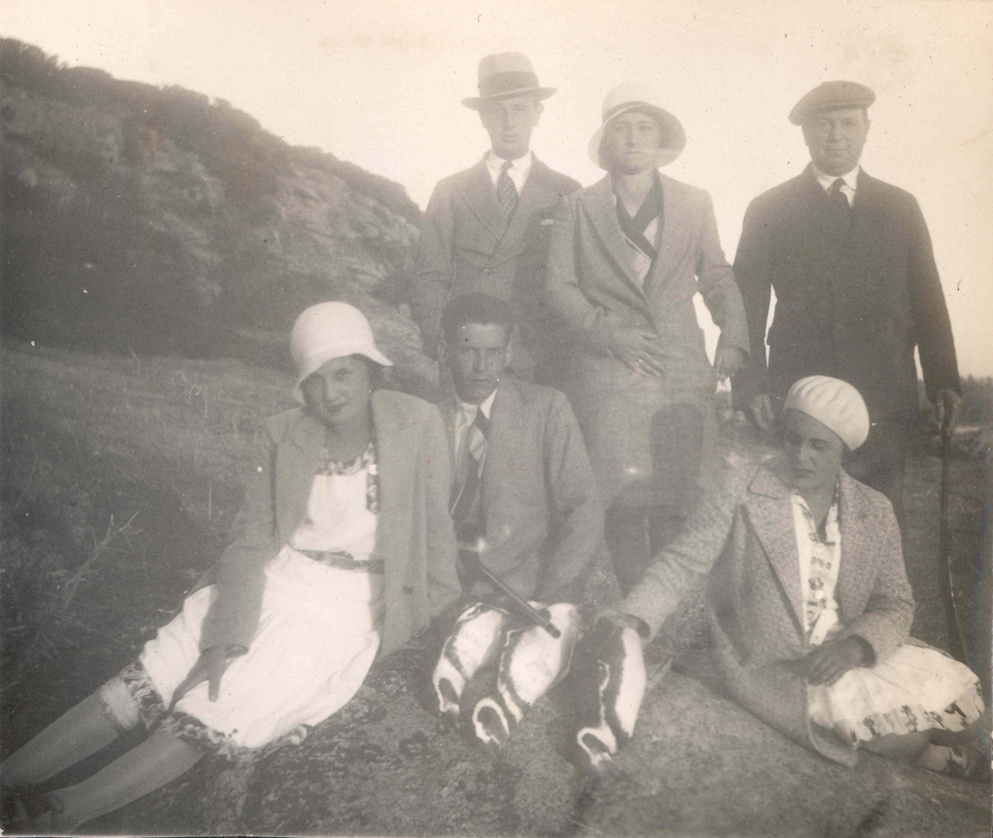Enterreno - Fotos históricas de chile - fotos antiguas de Chile - Algarrobo 1930