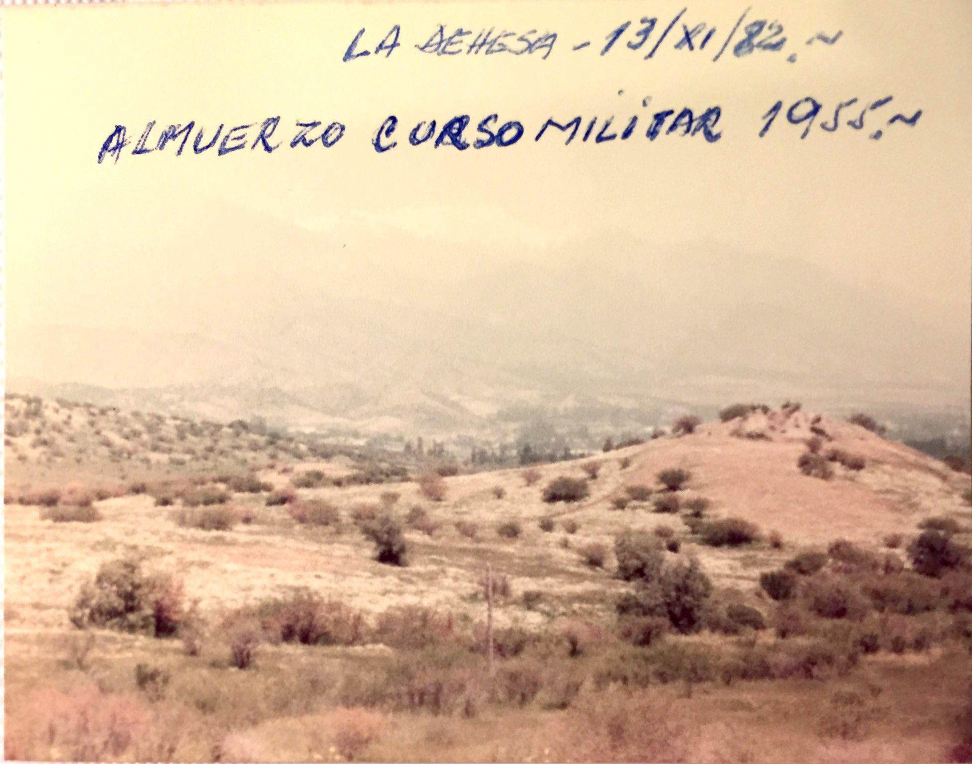 Enterreno - Fotos históricas de chile - fotos antiguas de Chile - La Dehesa, 1982