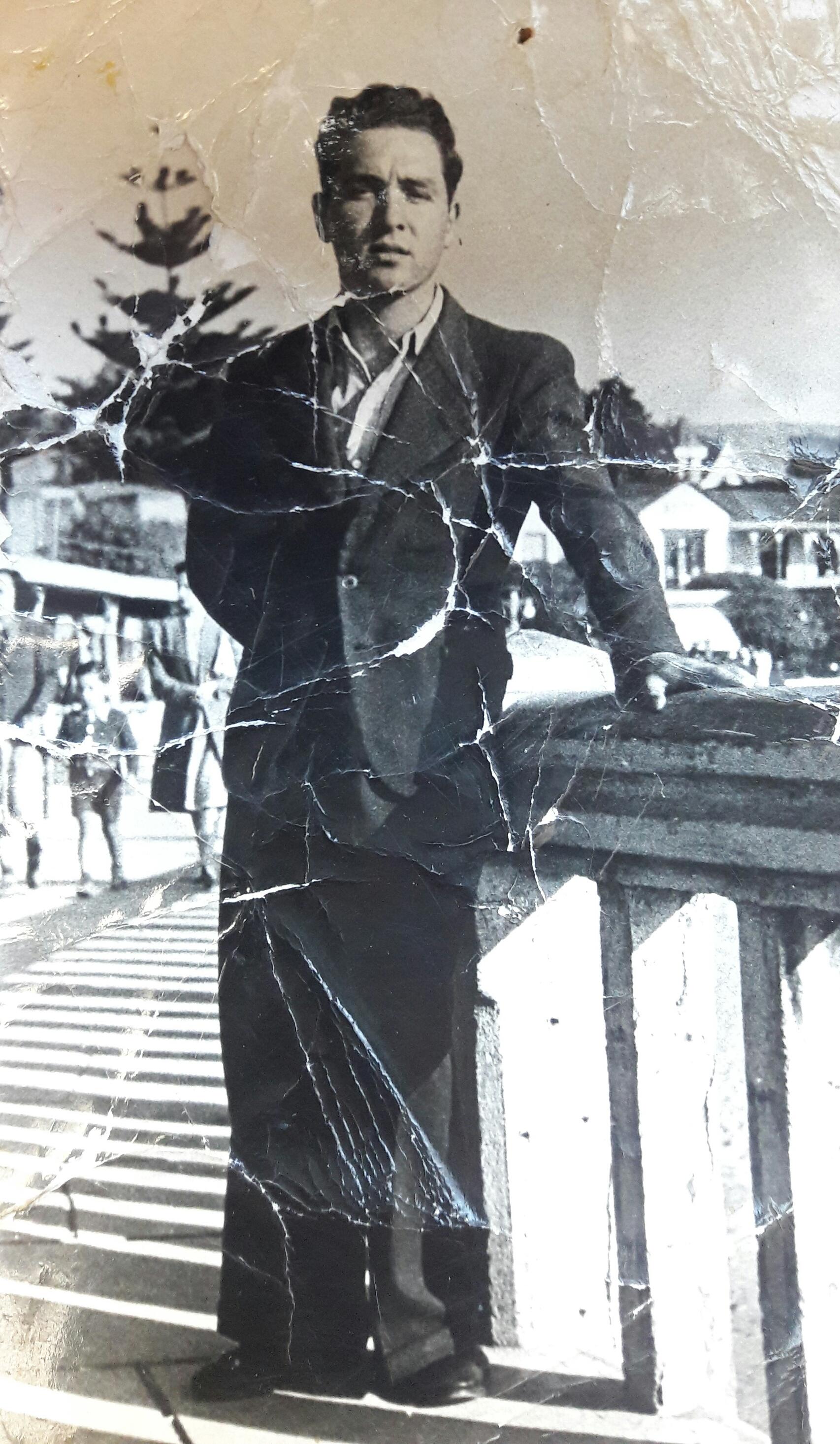 Enterreno - Fotos históricas de chile - fotos antiguas de Chile - Cartagena, 1939