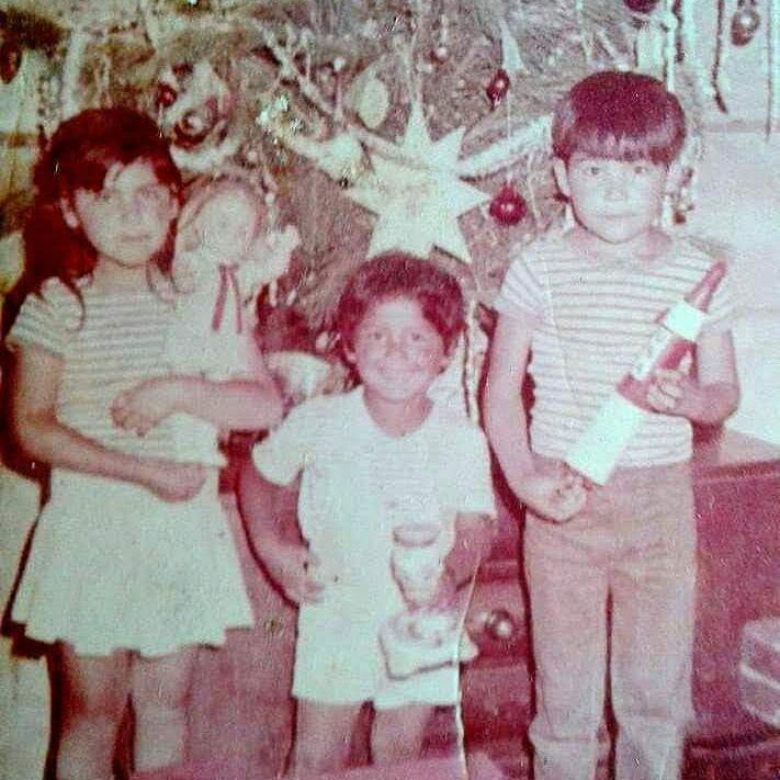 Enterreno - Fotos históricas de chile - fotos antiguas de Chile - Navidad en Viña del Mar, 1974