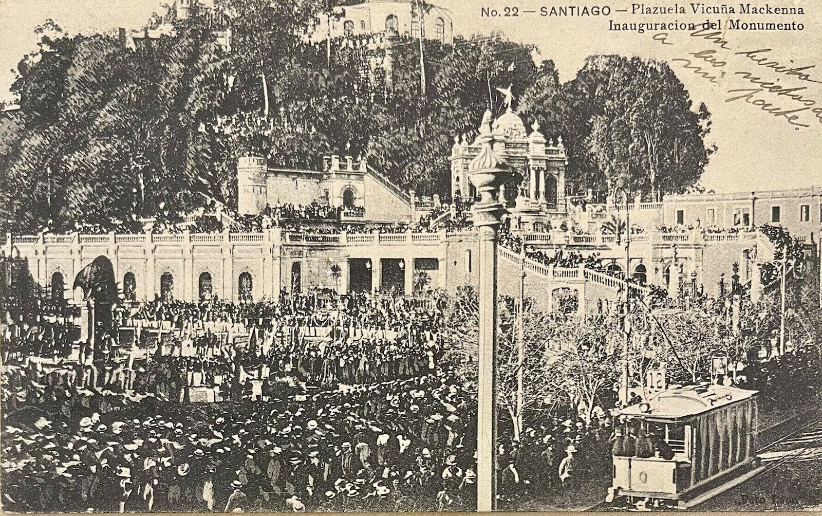 Enterreno - Fotos históricas de chile - fotos antiguas de Chile - Cerro Santa Lucía en 1902