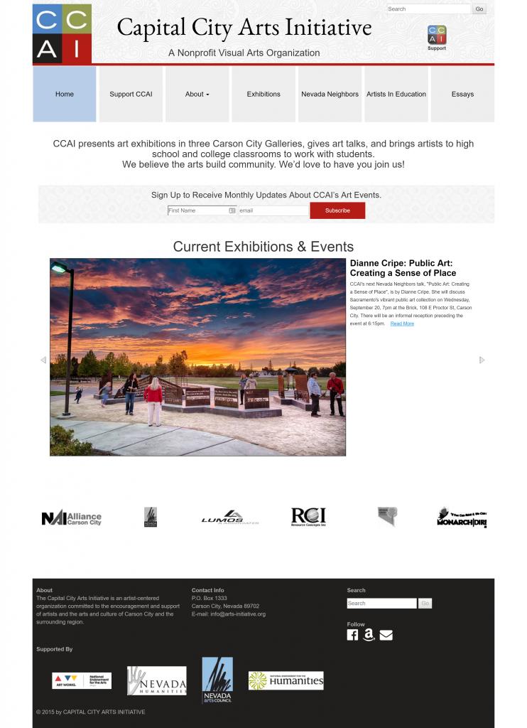 site redesign case study