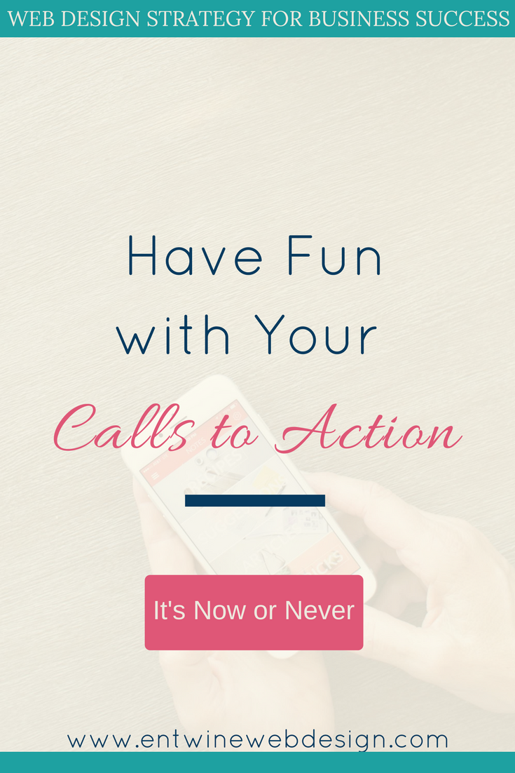 Have Fun with your Calls to Action