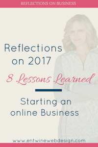 lessons starting an online business 2017 blog graphic