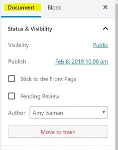exclude pages in search sidebar