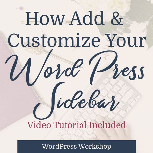 get wordpress sidebar blog graphic