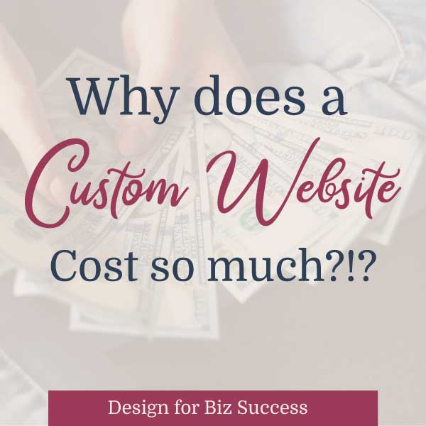 cost of website blog graphic