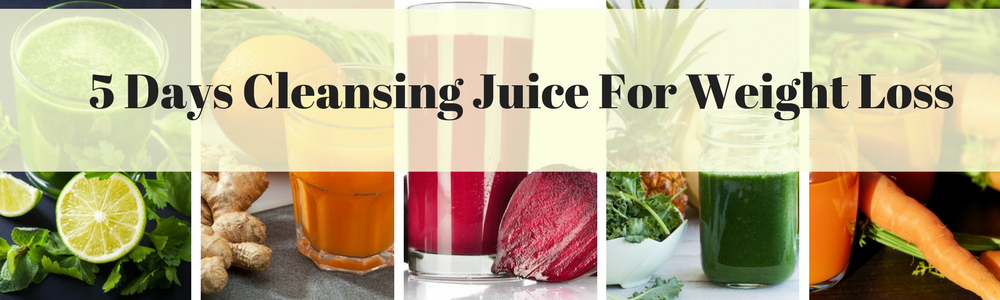 cleansing juice weight loss