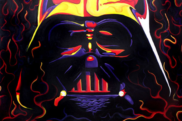 Darth Vadar · 2006 · Oil paint on canvas