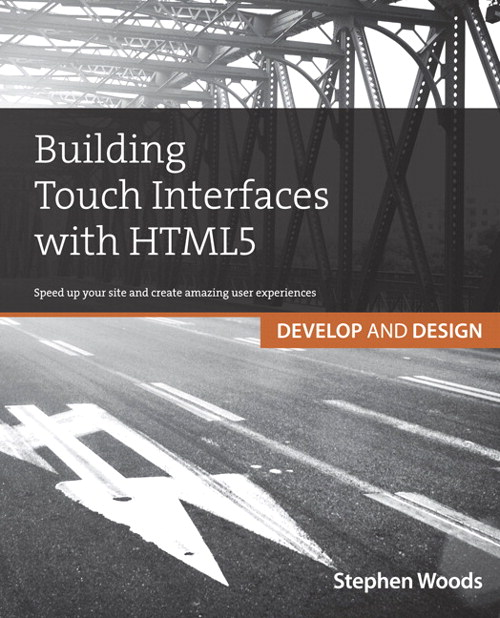 Building Touch Interfaces with HTML5 book cover