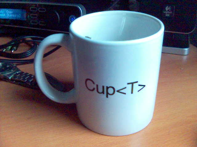 Cup<T>
