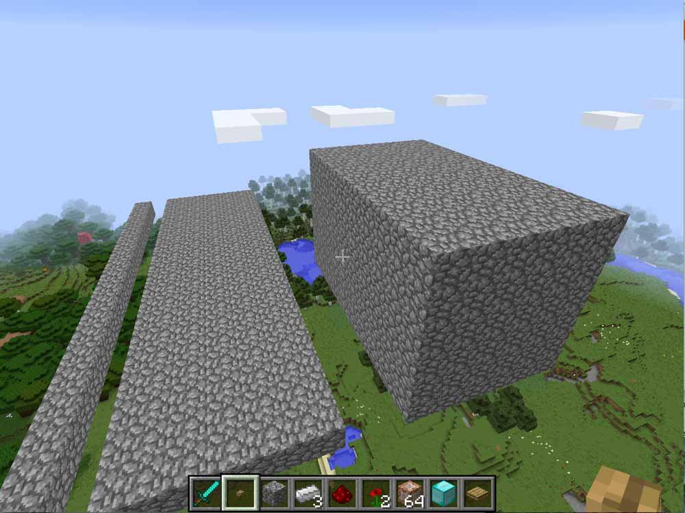 fill a cube