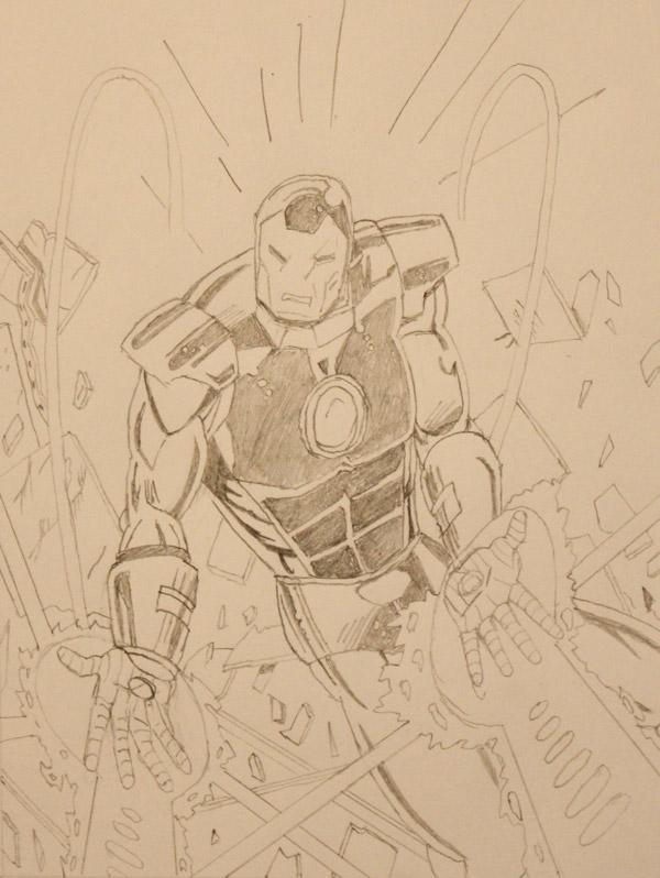 Drawing - Iron Man