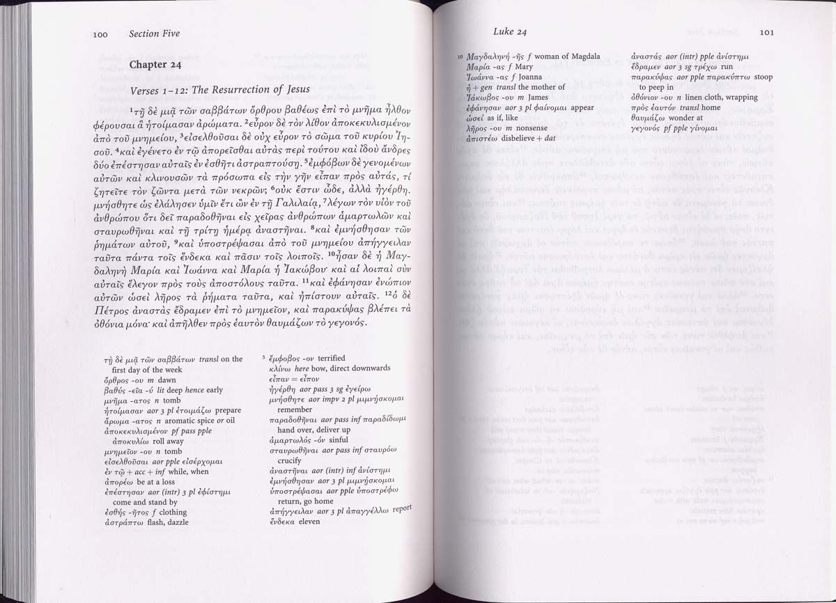 Picture of JACT's New Testament Greek reader
