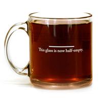 pessimists mug