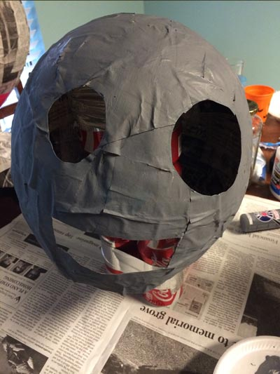 Pvz cutting holes in our zombie head