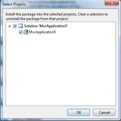 Removing a package from ASP.NET MVC 4 Preview