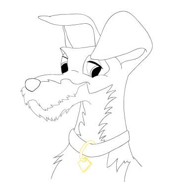 Tramp - sketched