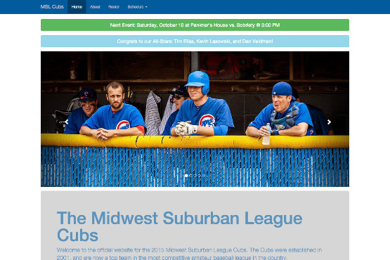MSL Cubs Website