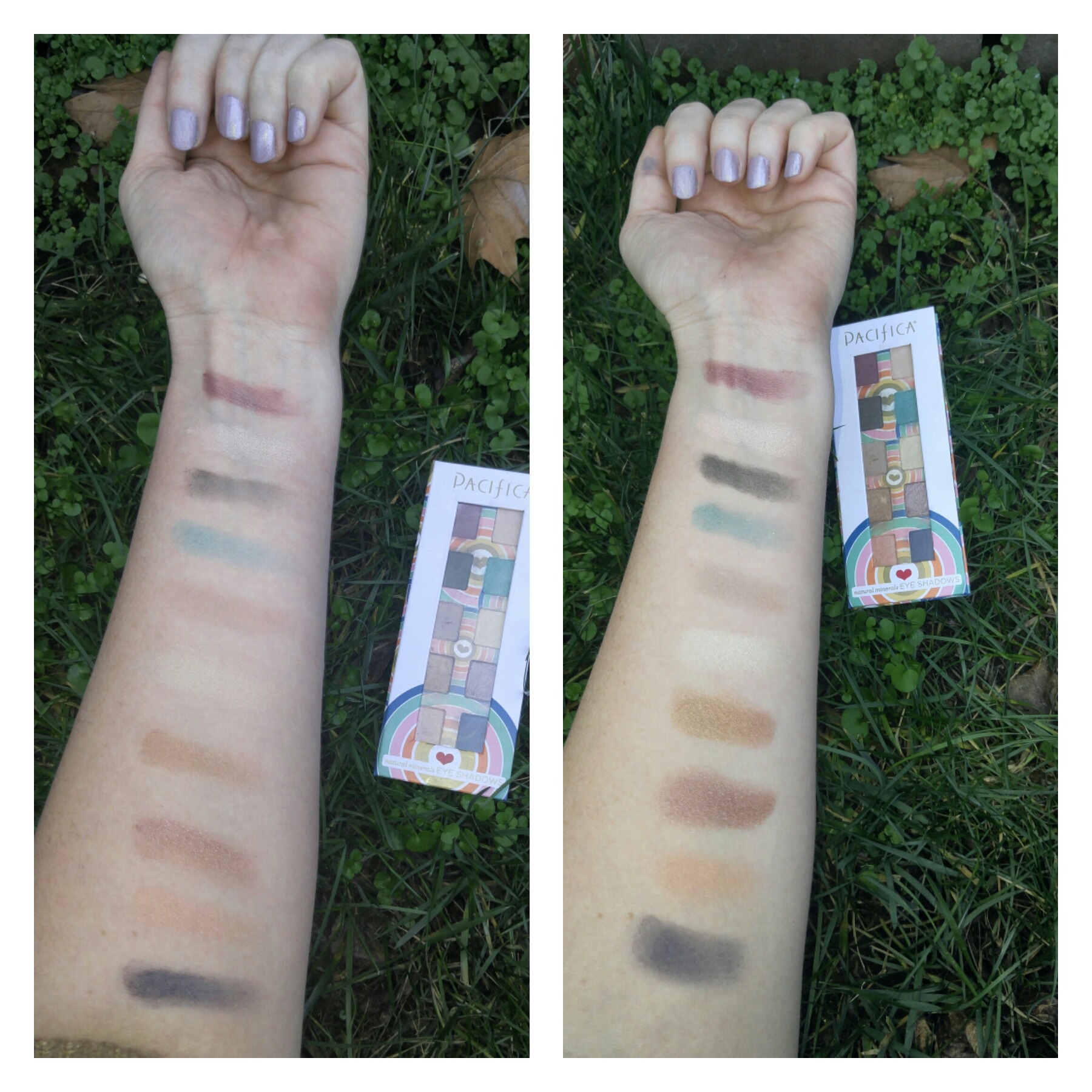 power of love swatches without primer and with