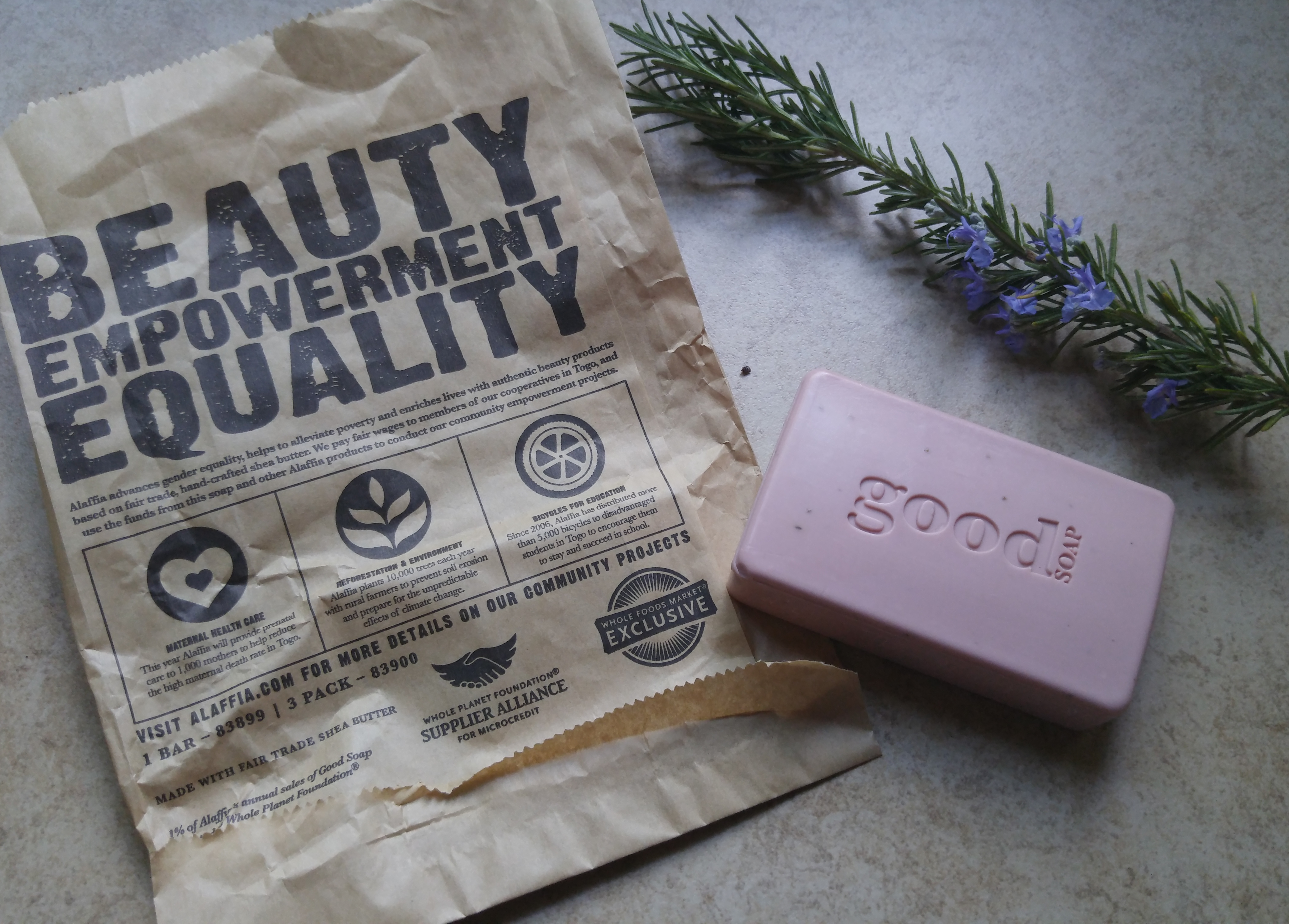 an overview of alaffia [makers of good soap and their community empowerment projects