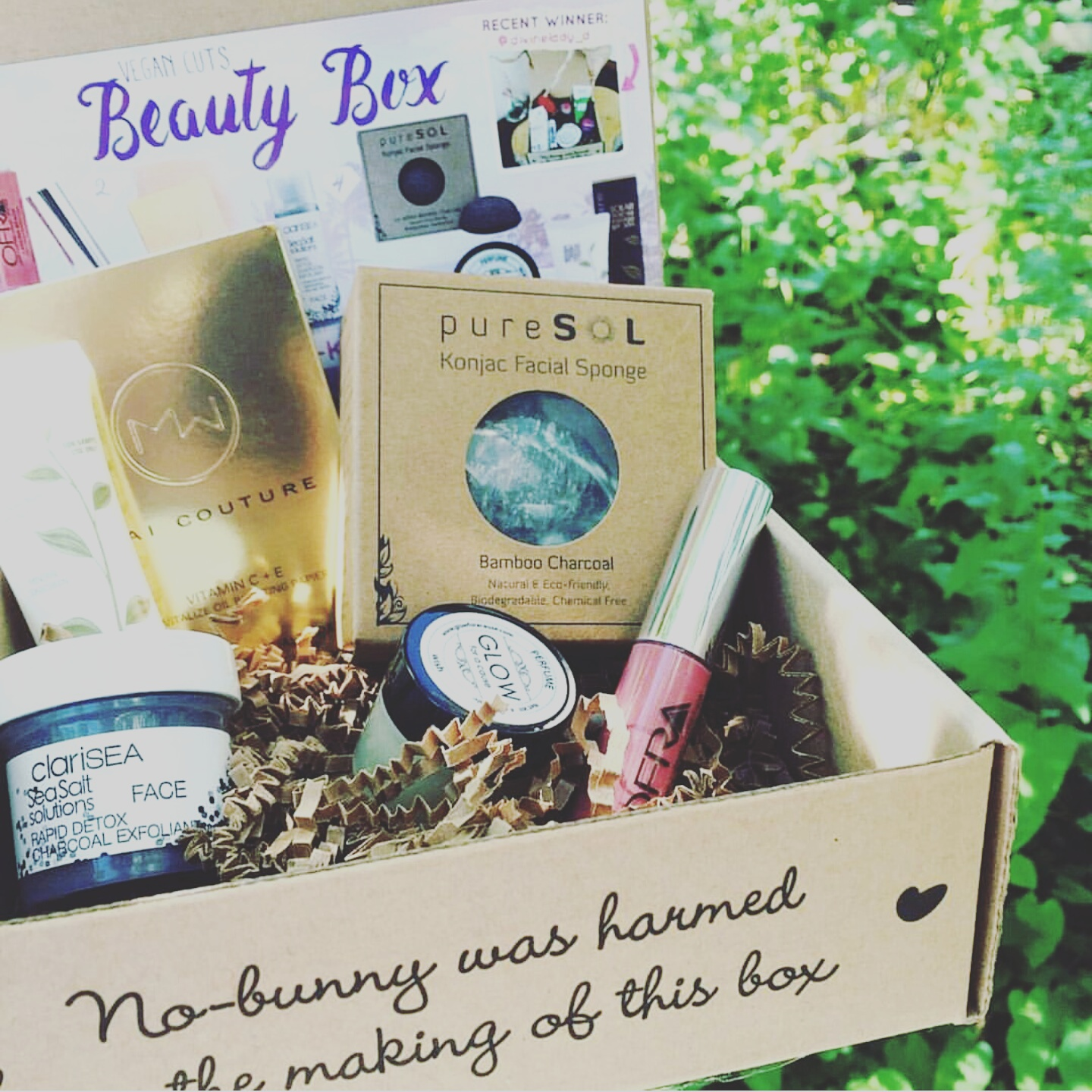 Vegan Cuts Beauty Box; June 2016 *REVIEW*