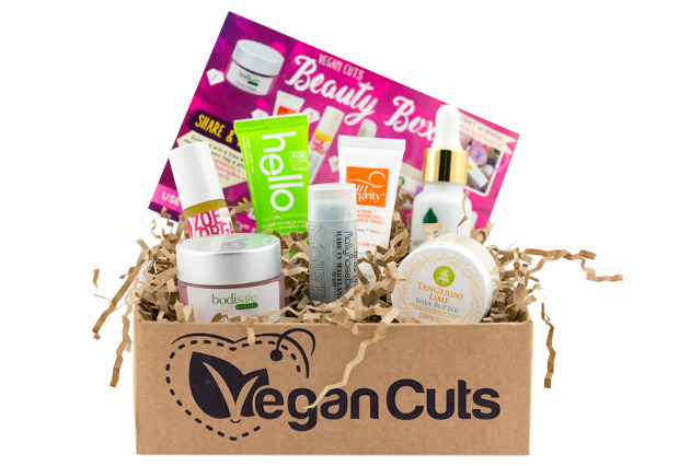 Vegan Cuts Beauty Box Review (July and August 2016)