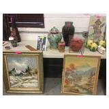 Antiques and paintings