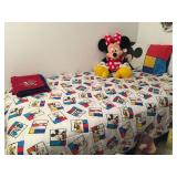 Twin beds, Disney bedding