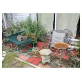 garden furniture, decor