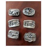Pewter Belt Buckels - Large Selection