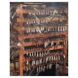 Many golf clubs sets and bags
