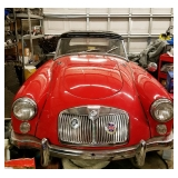 1962 MG - Front