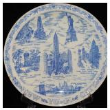 Large Plate of New York City-BLOOMINGDALES