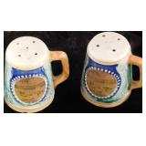 Vintage New Jersey Salt and Pepper Shakers