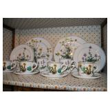 8 Piece Place Settings and over 19 Serving Pieces of Villeroy & Boch Botanica China