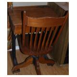 Antique School Desk and Chair
