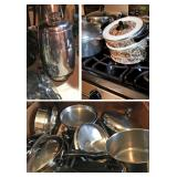 Lots of Cookware & Kitchen Appliances