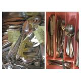 Lots of Silver Plated Silverware