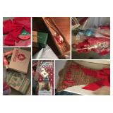 Assorted Vintage & New Holiday Items