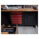 Work bench/tool cabinet